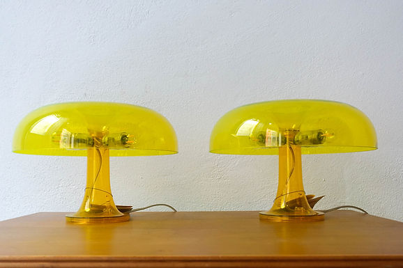 Pair of Nessino Table Lamp designed by Giancarlo Mattioli for Artemide