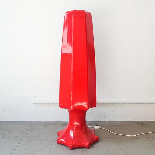 Rare Ilka Plast Floor Lamp, 1970's