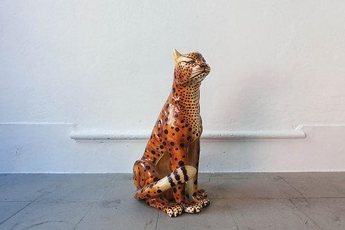 Vintage Ceramic Leopard