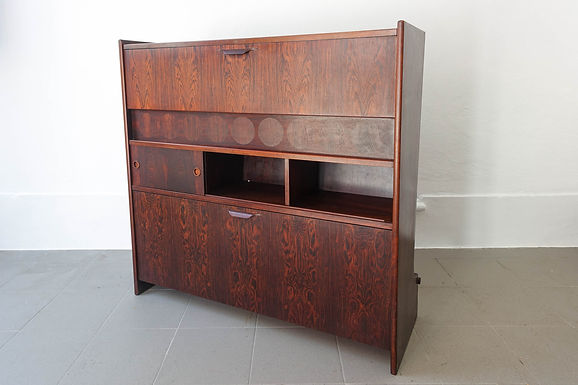 SK661 Rosewood Bar Cabinet by Johannes Andersen for Skaaning & Søn, 1960's