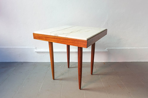 Portuguese Tavern Table, with Marble Top, 1960's