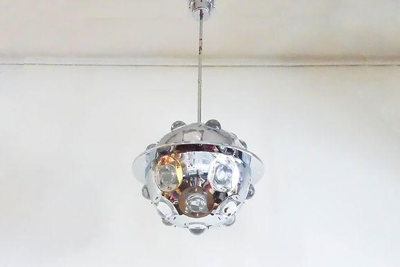 Oscar Torlasco Sputnik / Asteroid Ceiling Lamp for Lumi Milano