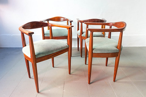"Set of 4 Portuguese Version of ""The Chair "" by Hans Wegner"