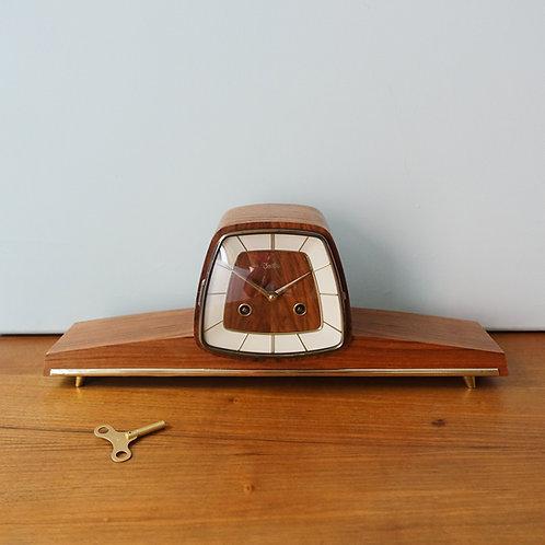 Zentra Mantel Clock, 1950's