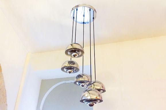 5 Shades Sputnik Cascade Lamp