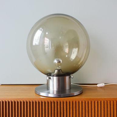 Portuguese Brutalist Style Table or Floor Lamp by Francisco Conceição Silva, 197