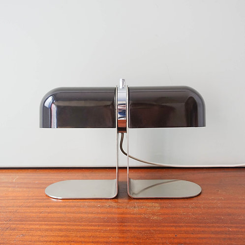 André Ricard Table Lamp for METALARTE, in Wengué color. Spain 1973