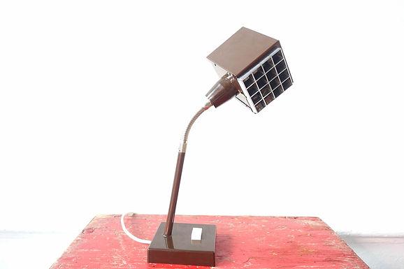 The Cube Metal Desk Lamp by Hans-Agne Jakobsson for Elidus, 1970s