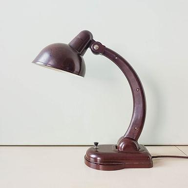 Christian Dell Bakelite Table Lamp, 1930's