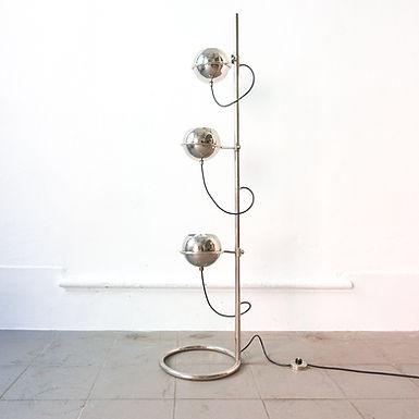 Eyeball Triple Light Floor Lamp by Goffredo Reggiani for Reggiani, 1970's
