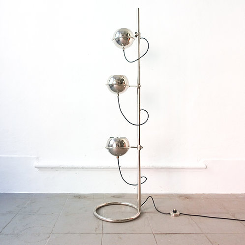 Eyeball Triple Light Floor Lamp by Goffredo Reggiani for Reggiani, 1970's