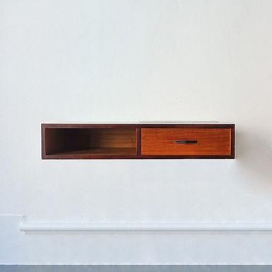 Portuguese Wall Desk/ Vanity Table, 1960's