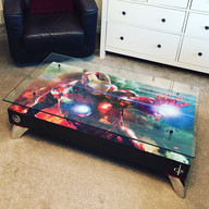 IRON MAN COFFEE TABLE