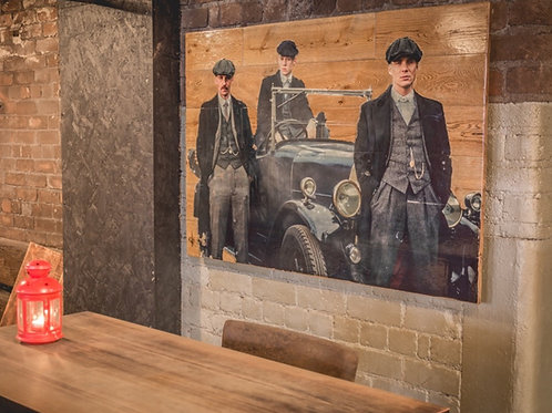 PEAKY BLINDERS (The Shelby's)