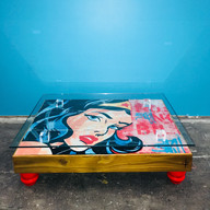 WONDER WOMAN COFFEE TABLE