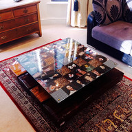 KINGS COFFEE TABLE