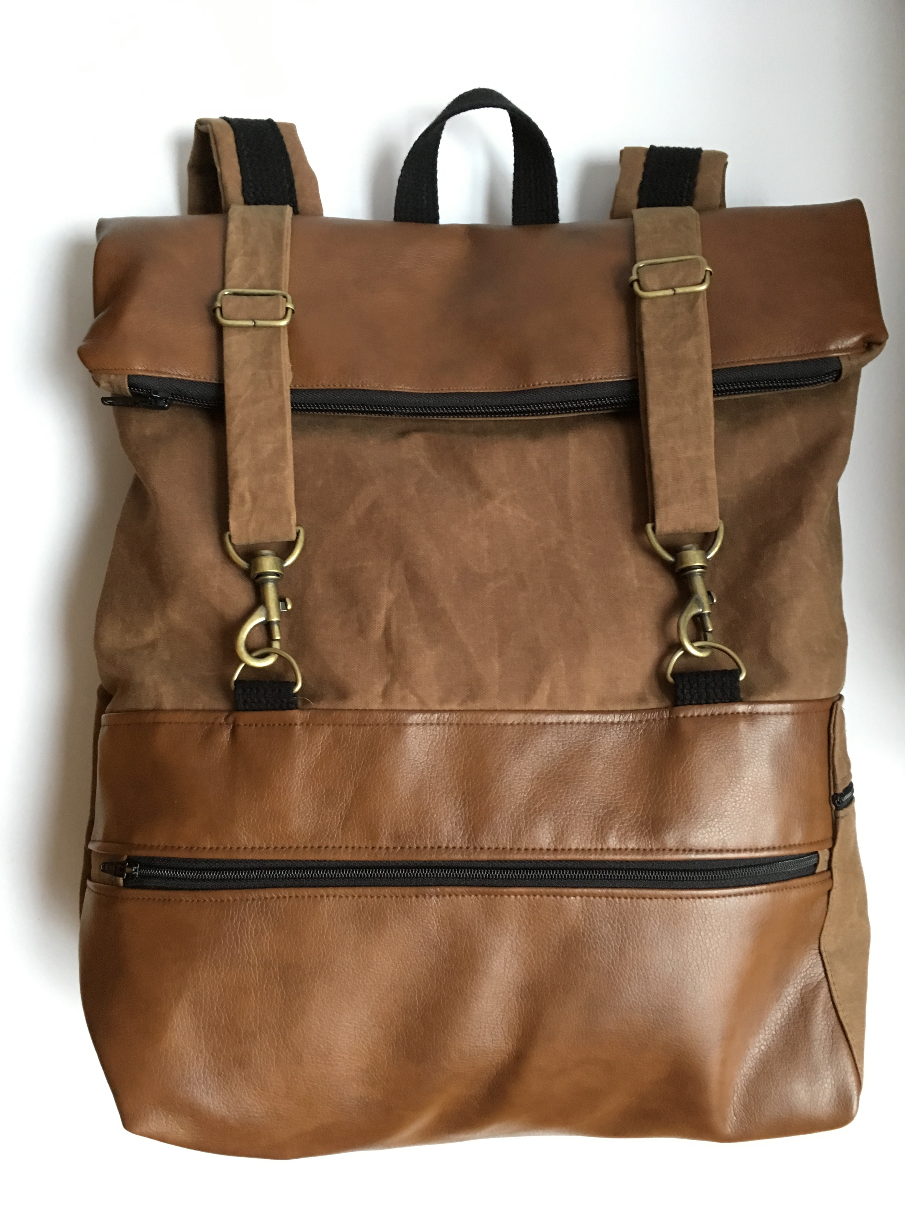 Brown Rucksack