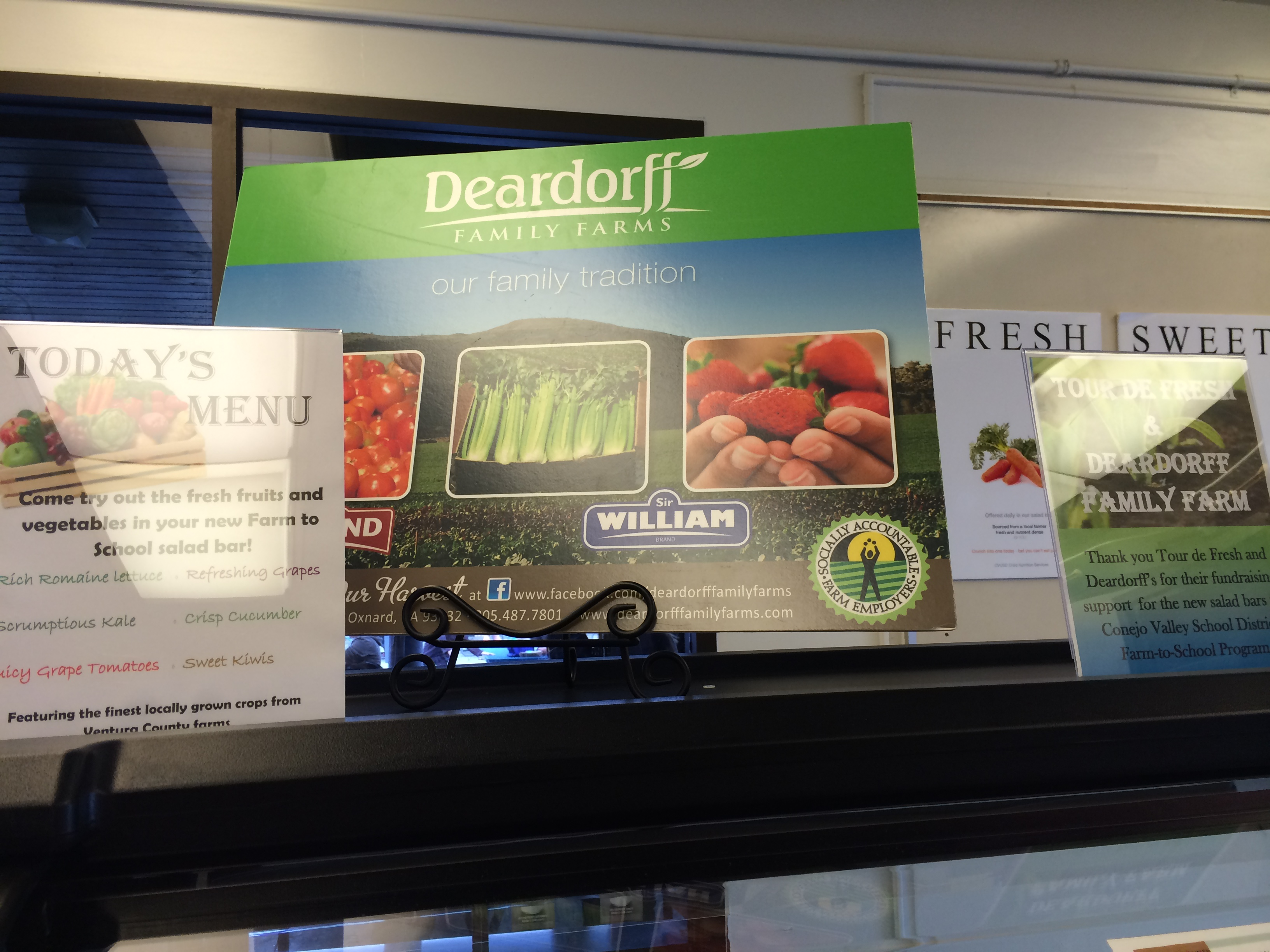 salad bar donation-Deardorff