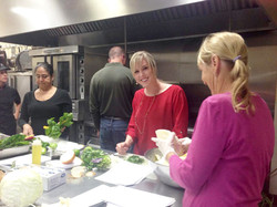 christine cooking class