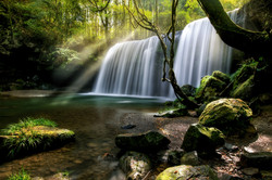Mysterious Waterfall