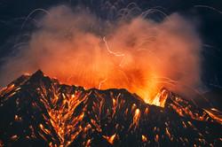 Explosion Eruption