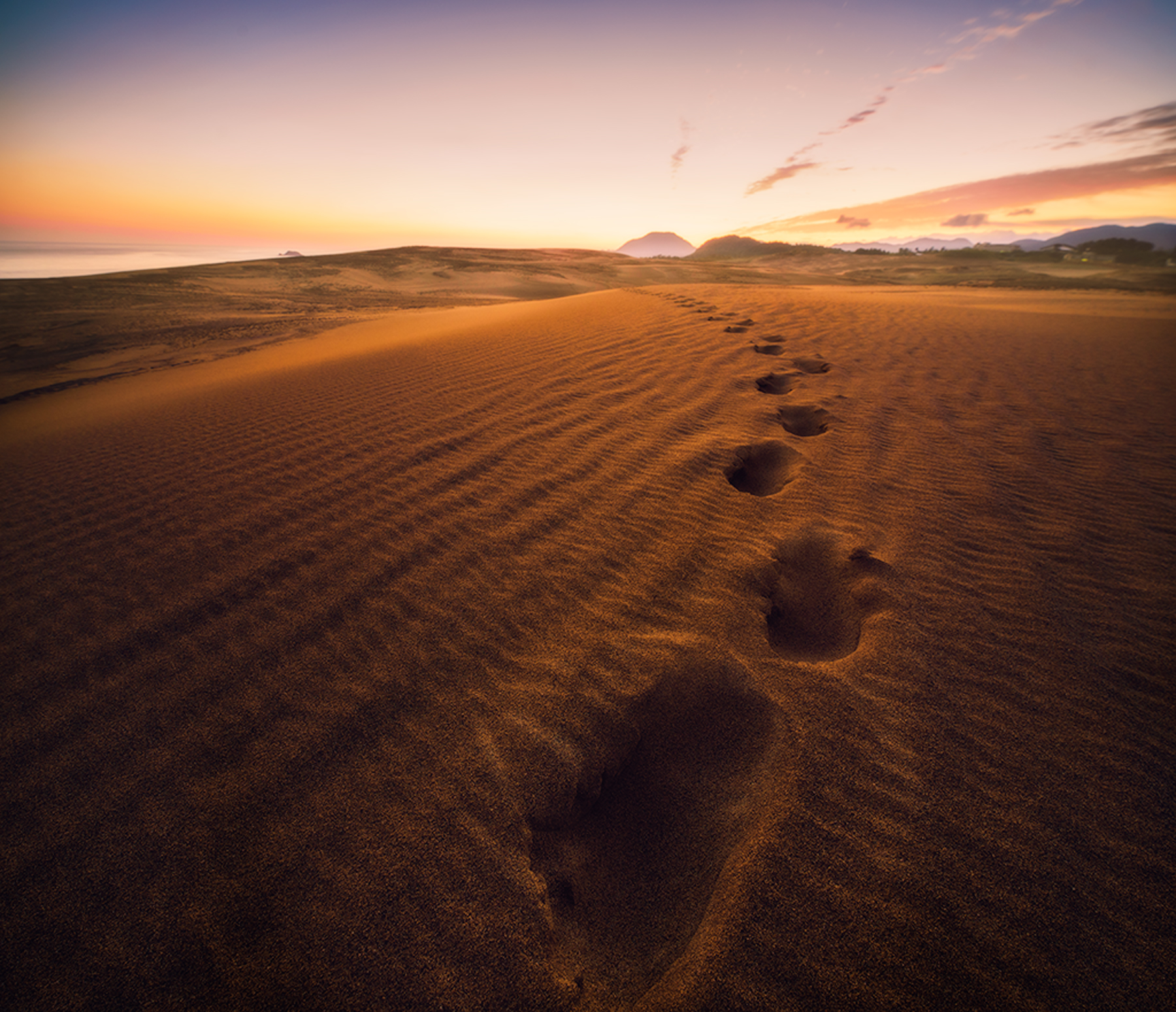 Footprints of Travelers