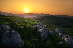Sunrise of Akiyoshidai