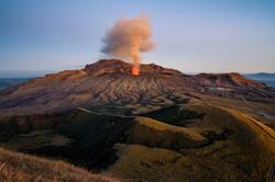 Eruption of Aso
