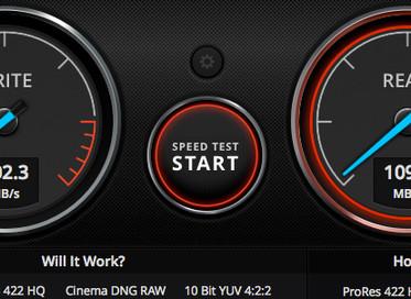 転送速度比較! NAS・外付けHDD・SSD・SD