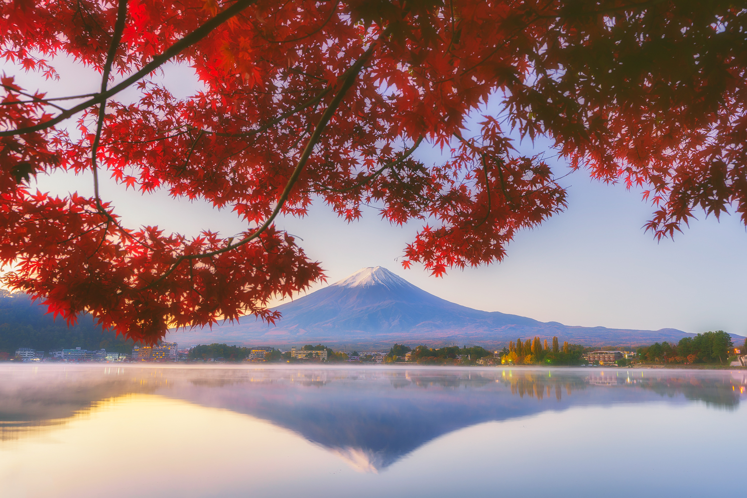 ​Mt. Fuji in autumn