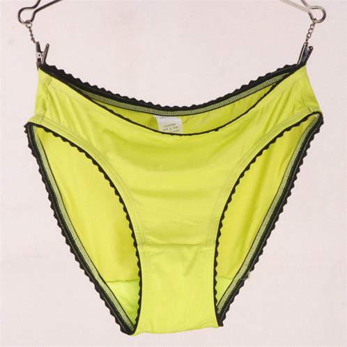 Yellow panties Big booty in