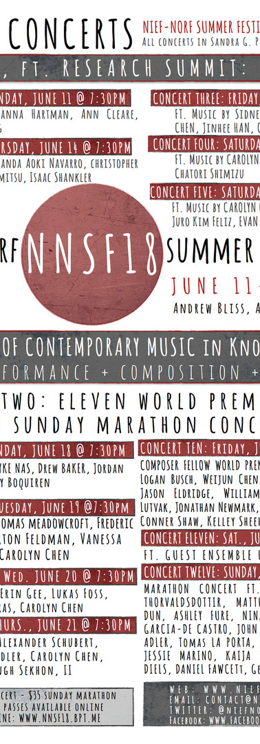 Nief-Norf Summer Festival 2018