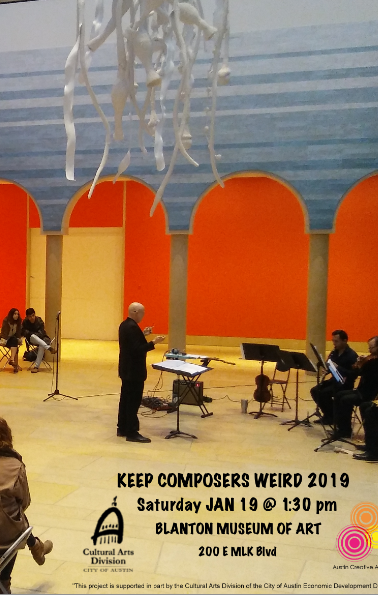 Keep Composers Weird Residency 2019