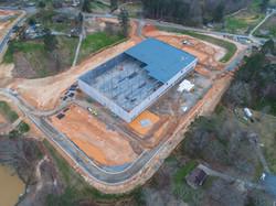 Construction Progress Drone Photo
