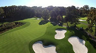 Drone View of Golf Course - Blue SkEye