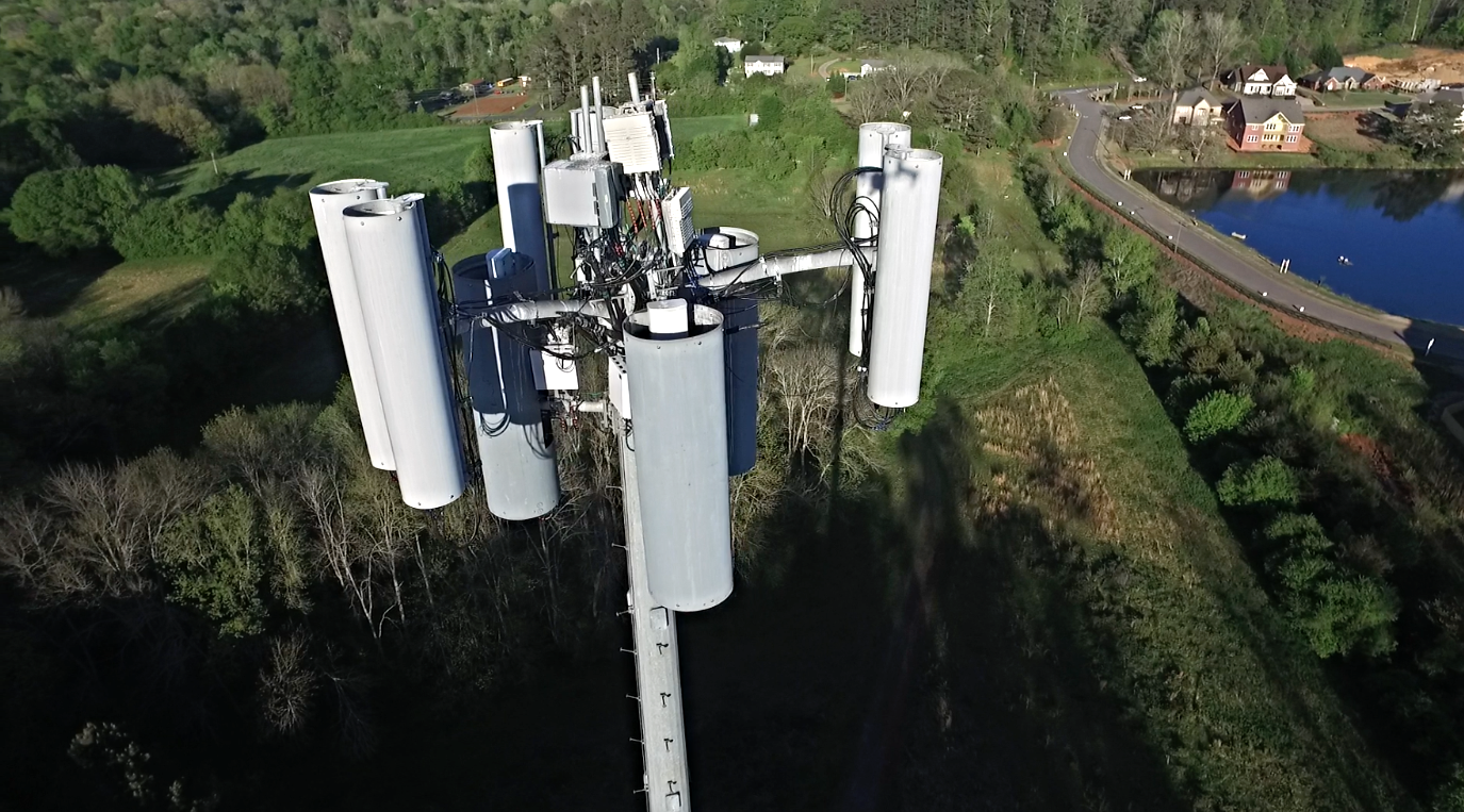 Drone Inspection - Cell Phone Tower