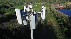 Cell Phone Tower Drone Inspection