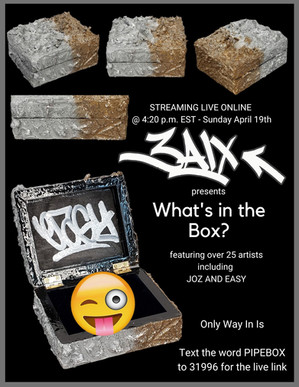 Q: What's in the Box? A: 'High' Art.