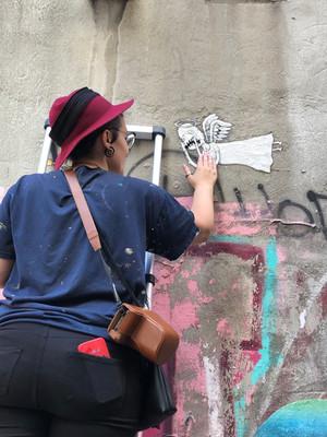 Street Storytelling with Sara Lynne Leo