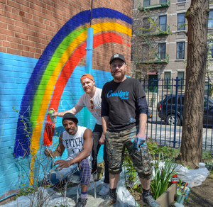 A Garden Mural Grows in Brooklyn
