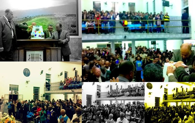 Culto hoje foi renovador, _O Corredor dos Milagres_ Igreja do Evangelho Quadrangular -  www.ieqsd