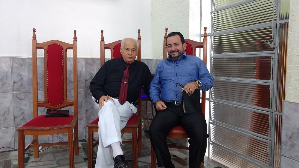 Pr. Carlos e Pr. Edson (Coord Estadual do Diaconato)