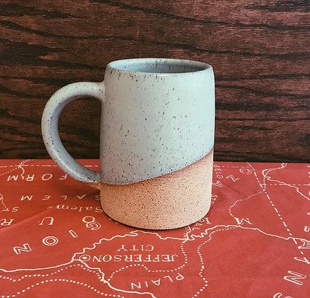 Speckled Blue Beer Mug