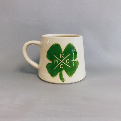 KCMO Clover mug
