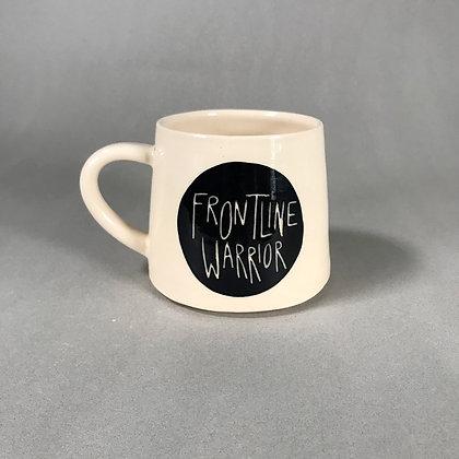 Frontline Warrior mug