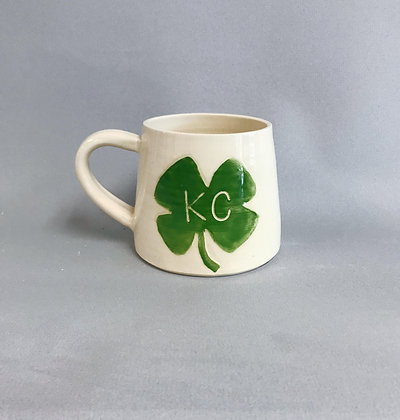 KC Clover mug