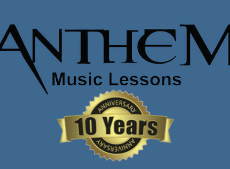 Anthem Music Celebrates 10 years in Biz