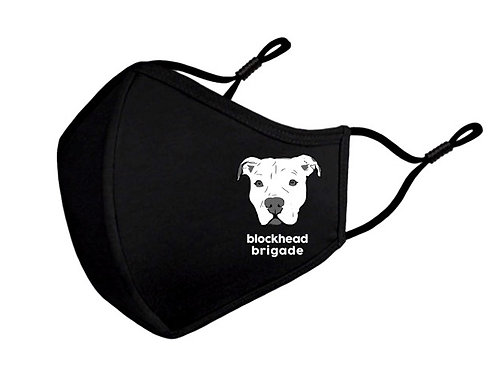 Blockhead Brigade Face Mask