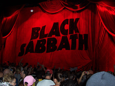 Backstage al Paranoid de Black Sabbath