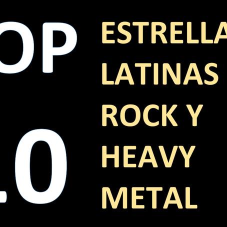 10 estrellas latinas del Rock y Heavy Metal